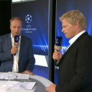 Das neue Oli-Duo: Moderator Oliver Welke und Experte Oliver Kahn.