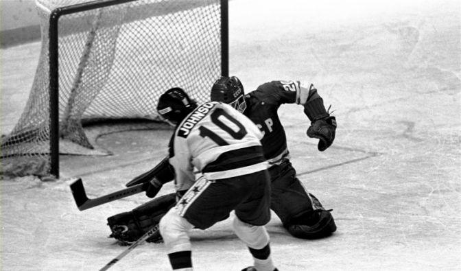 Das olympische Eishockeyturnier 1980 (Foto)