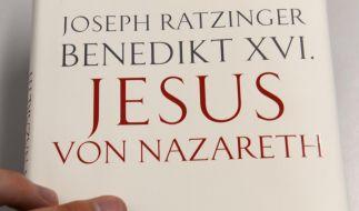 Das Papst-Buch trägt ausdrücklich auch den bürgerlichen Namen, weil der Autor sein Werk als Beitrag zur Jesus-Forschung versteht und nicht als letztes Wort des Pontifex. (Foto)
