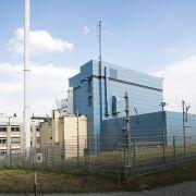 Das Reaktorgebäude des Forschungsreaktors im Berliner Helmholtz Zentrum.
