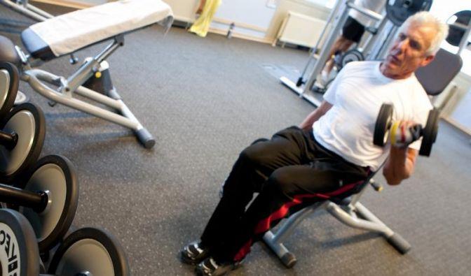 Das richtige Fitnessstudio für Senioren (Foto)