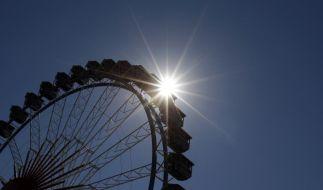 Das Riesenrad auf dem Oktoberfest: ein ganz besonderes Erlebnis. (Foto)
