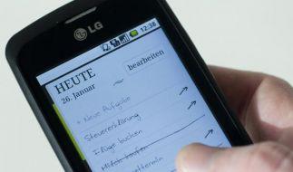 Das Smartphone als Notizbuch (Foto)