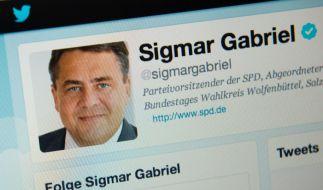Das Twitter-Profil des SPD-Bundesvorsitzenden Sigmar Gabriel. (Foto)