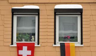 Das deutsch-schweizerische Verhältnis kannte schon bessere Tage. (Foto)