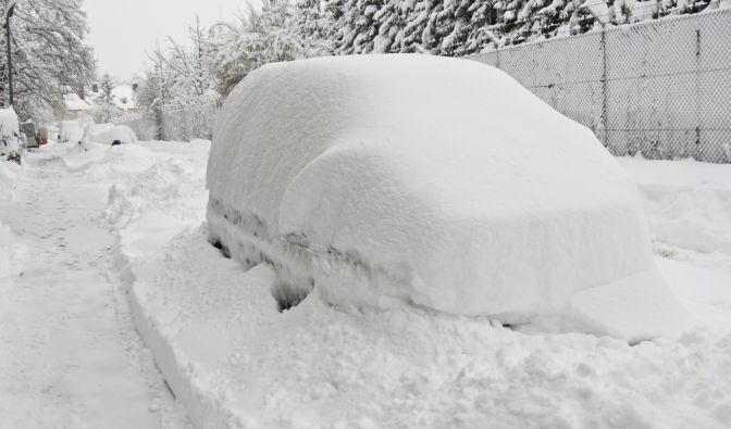 """Das Winterwetter hat eine Pause eingelegt. Schlägt """"Snowzilla"""" jetzt in Deutschland zu? (Foto)"""