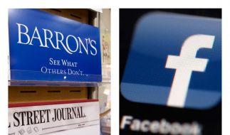 Das Wirtschaftsmagazin Barron's prophezeit Facebook weitere Kursabstürze. (Foto)
