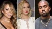 Das war nicht die beste Woche für Mariah Carey, Jennifer Lawrence und Kanye West. (Foto)