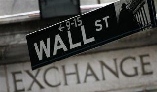 Das Zentrum der Dollarwirtschaft: Die Wall Street in New York. (Foto)