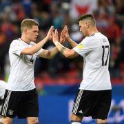 3:1 gegen Kamerun! Deutschland ballert sich ins Halbfinale (Foto)