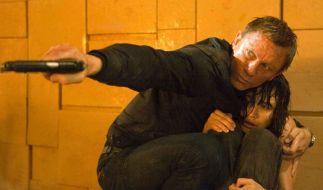 Dass 007 nun mit Daniel Craig erstmals blond sein sollte, stieß vielen Fans bereits sauer auf. (Foto)