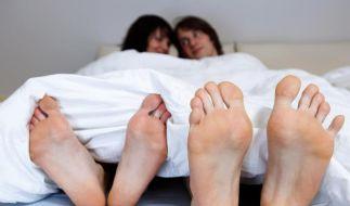 Dass Liebe Spaß macht, finden drei Viertel der Deutschen. Und vier Prozent paaren sich aus Langeweil (Foto)