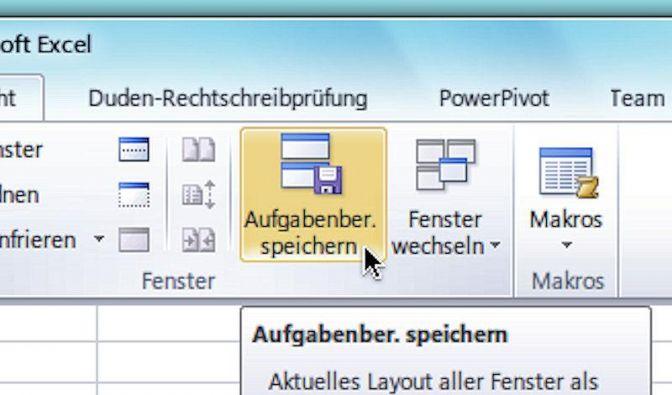 Dateien in Excel automatisch öffnen (Foto)