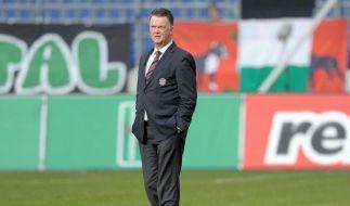 Daumen runter: Bayern-Bosse suchen «beste Lösung» (Foto)