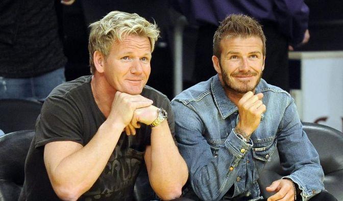 David Beckham und Gordon Ramsay (Foto)