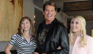 David, Taylor Ann und Hayley Hasselhoff  (Foto)