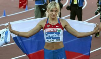 Dawidowa gewinn Hürden-Titel bei EM (Foto)