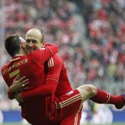 Bayerns Trümpfe: Franck Ribéry und Arjen Robben haben gegen ihre direkten Gegenspieler Vorteile.
