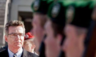 De Maizière ist neuer Verteidigungsminister (Foto)