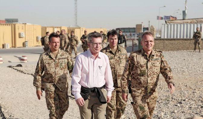 De Maizière zu Überraschungsbesuch in Afghanistan (Foto)