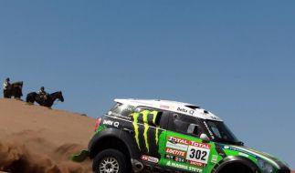 De Villiers/von Zitzewitz Fünfte vor Dakar-Ruhetag (Foto)
