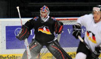 DEB-Team mit Endras als Nummer eins gegen Letten (Foto)