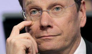Debatte um FDP-Chef Westerwelle dauert an (Foto)