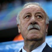 Spaniens Trainer Del Bosque nimmt Abschied (Foto)
