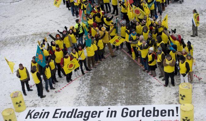 Demonstration gegen Atommuellendlager Gorleben (Foto)