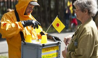 Demonstration gegen Castor-Transporte  (Foto)
