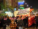 Demonstration in der Walpurgisnacht (Foto)