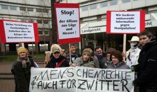 Demonstration Intersexuelle (Foto)
