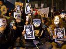 Demonstrationen für Wikileaks-Gründer (Foto)