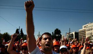 Demonstrationen in Athen (Foto)