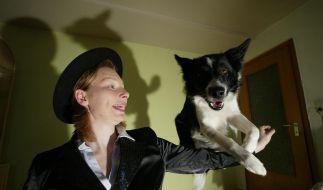Denise Nardelli und ihr Border Collie sind ein eingespieltes Dogdance-Team.  (Foto)