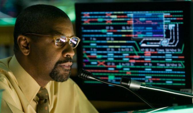 Denzel Washington gerät in dem Kinofilm «Pelham 123» in eine Geiselnahme (Foto)