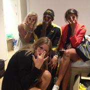 Der Abend ihres Lebens: Drei schwedische Handball-Nationalspielerinnen verbrachten anderthalb Stunden auf dem Zimmer von Usain Bolt.