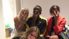 Der Abend ihres Lebens: Drei schwedische Handball-Nationalspielerinnen verbrachten anderthalb Stunden auf dem Zimmer von Usain Bolt. (Foto)