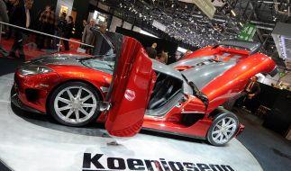 Der Autohersteller Koenigsegg greift nach Saab. (Foto)