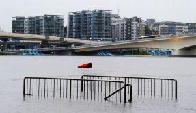 Der Brisbane River jagt durch die gleichnamige australische Millionenstadt. (Foto)