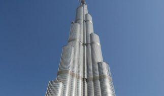 Der Burj Chalifa ist das höchste Haus der Welt. (Foto)
