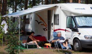 Der Camping-Platz ist für viele Deutsche inzwischen eine billige Alternative zur Mietwohnung. (Foto)