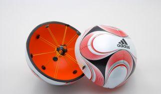 Der Chip im Ball (Foto)