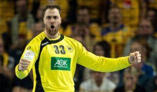 Der deutsche Handball-Torwart Andreas Wolff. (Foto)