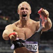 Der deutsche Diskuswerfer Robert Harting wurde 2012 zum Sportler des Jahres gewählt. Als amtierender Weltmeister geht es für ihn um die Titelverteidigung.