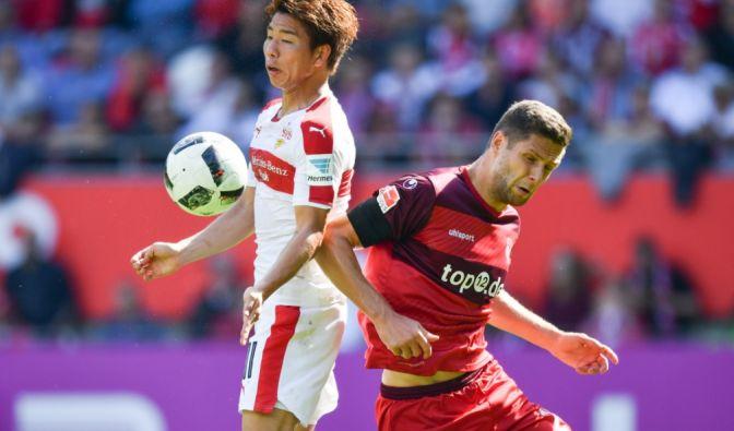 Der 1. FC Kaiserlautern gegen Dynamo Dresden am 6. Spieltag (21.09.2016). (Foto)