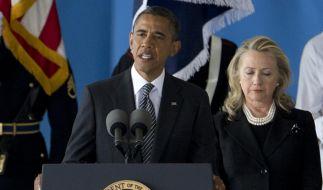 Der arabische Flächenbrand, der vier amerikanischen Botschaftsmitarbeitern das Leben kostete, stellt Barack Obamas außenpolitische Linie auf die Probe. (Foto)