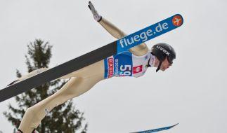 Der fliegende Norweger: Anders Jacobsen. (Foto)