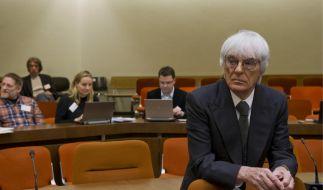 Der Formel 1-Chef wird im Bestechungskandal schwer belastet. Schon bald kann ihm eeine Anklage drohen. (Foto)
