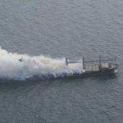 Frachter in der Nordsee droht zu explodieren (Foto)
